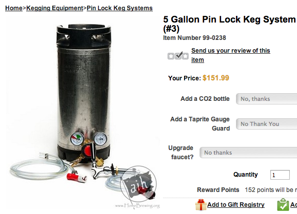 AIH Kegging Kit